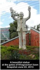 Statue of Ziaur Rahman