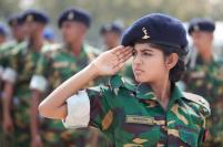 Lady Army Officer