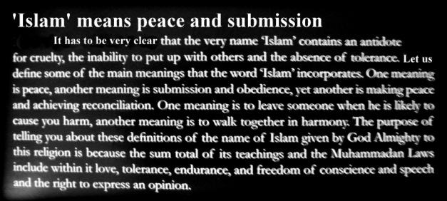 Meaning of Islam 01