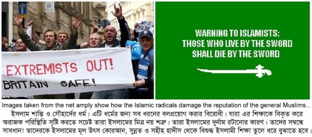 Few anti radical slogans - Images (2)