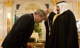 King-Abdullah and Bush