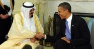 King Abdullah with Obama