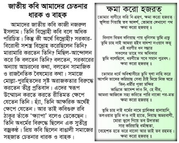 Nazrul's stance against the fanatic - Copy - Copy