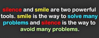 Silence and smile - Copy