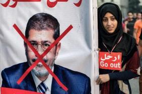 Anti Morsi Hijaab clad lady