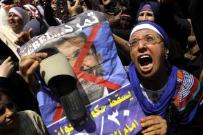 Anti Morsi agitations 2013