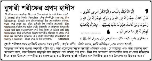 Bukhari The First Hadith - Edited (2)