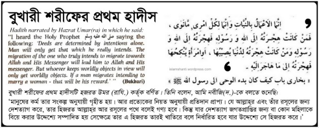 Bukhari The First Hadith - Edited (2)