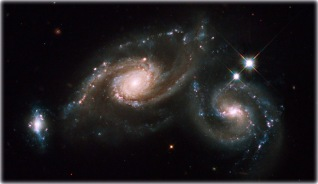 Hubble twin galaxies - edited