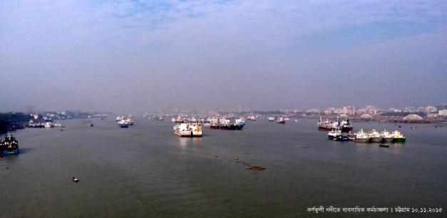 The economic hustle bustle on the Karnaphuli river (2)