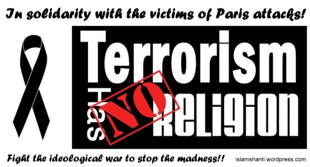 We condemn Paris attacks edited - Copy (2)