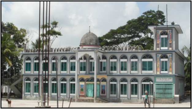 A beautiful Mosque at Kalapara Patuakhali (2)