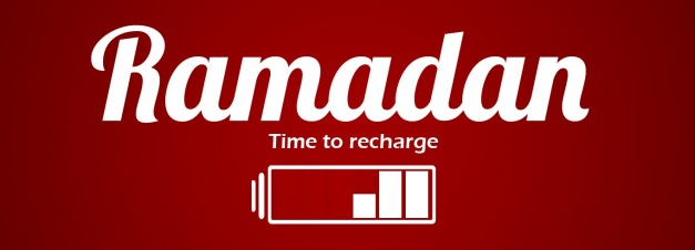 ramadan time to recharge - edited